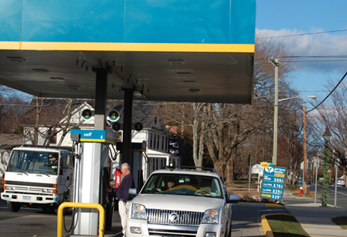 VERA CHINESE FILE PHOTO | The Valero gas station on Main Road in Cutchogue.