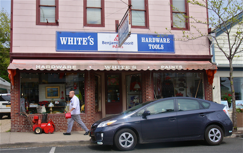 White's Hardware on Main Street in Greenport has a new tenant. (Credit: Barbaraellen Koch, file)