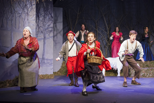 The North Fork Community Theatre presents 'Into the Woods' beginning Thursday. (Credit: Katharine Schroeder)