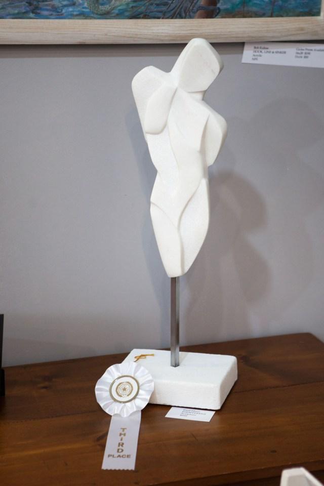 Sculpture by Paul Maus of Mattituck.