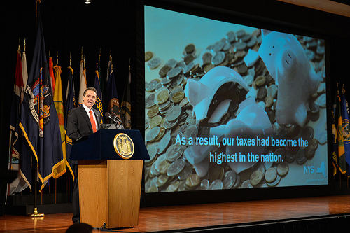 COURTESY PHOTO | Gov. Andrew Cuomo at last week's State of the State address.