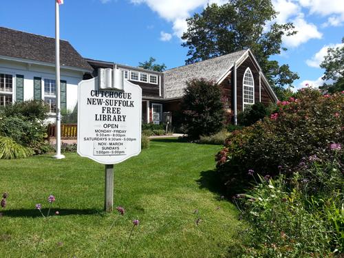 JENNIFER GUSTAVSON FILE PHOTO | Cutchogue New Suffolk Free Library's budget passed Tuesday night.