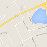 A woman was hit by a car on County Road 48 near Middleton Road on May 25. (Credit: Google maps)