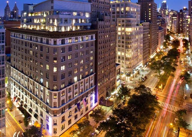The NYLO hotel on the corner of Nroadway and 77th Street on Manhattan's Upper West Side. (Credit: nylohotels.com)