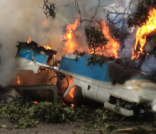 Shirley plane crash, Calabro Airport