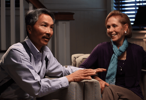 PLUM TV COURTESY PHOTO Fred and Karen Lee, owners of Sang Lee Farms in Peconic, are featured on the pilot episode of The Real Deal, a new business show now airing on Plum TV and WPPB-FM.