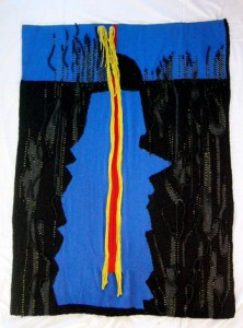 Tapestry by Francoise Rieger.