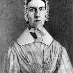 Wood-engraved portrait of Angelina Grimke. (Public Domain)