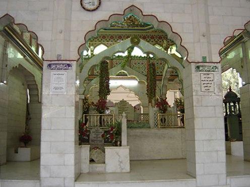 The mother of Hazrat Nizamuddin Awliya, New Delhi.