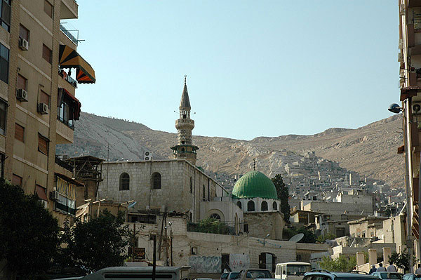 The mosque of shaykh Ibn al-'Arabi