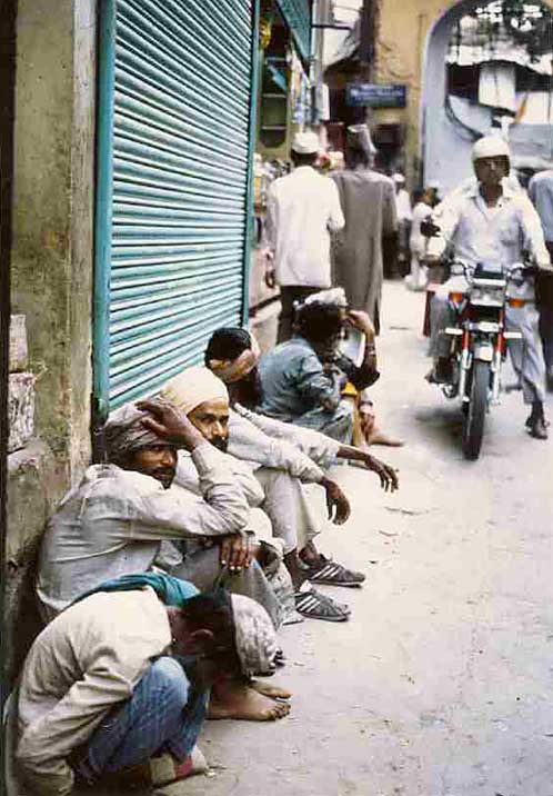 In the streets of Ajmer, India
