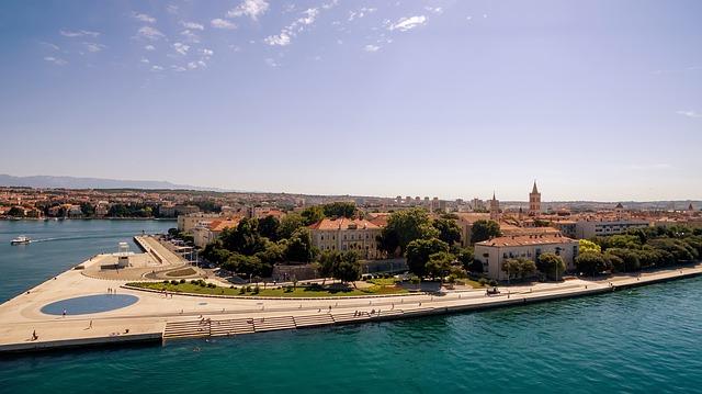 Zadar, Croația, orașul unde marea cântă la orgă (I)