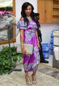 cute ankara one piece wrapper with off shoulder blouse, iro style