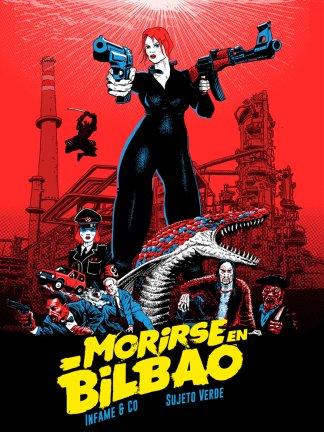 Portada del cómic Morirse en Bilbao