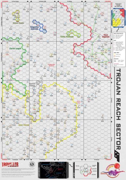 Trojan Reach Map