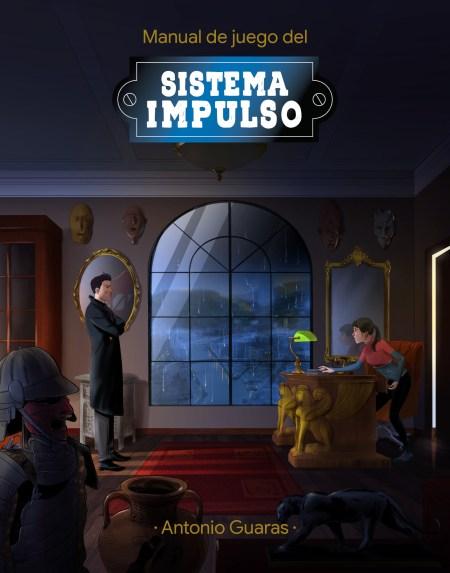 Boceto de la portada de Sistema Impulso