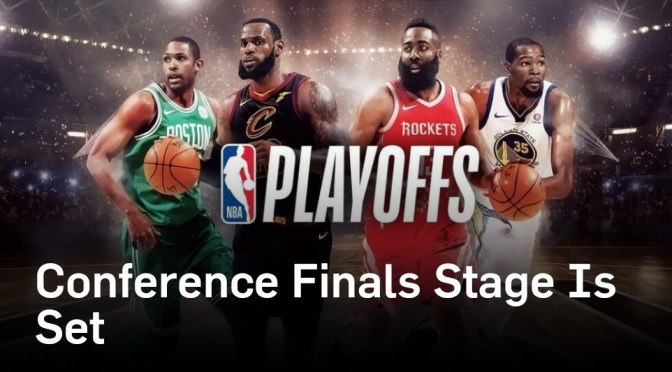 The Eastern and Western Conference Finals are Set! Suga's Predictions!