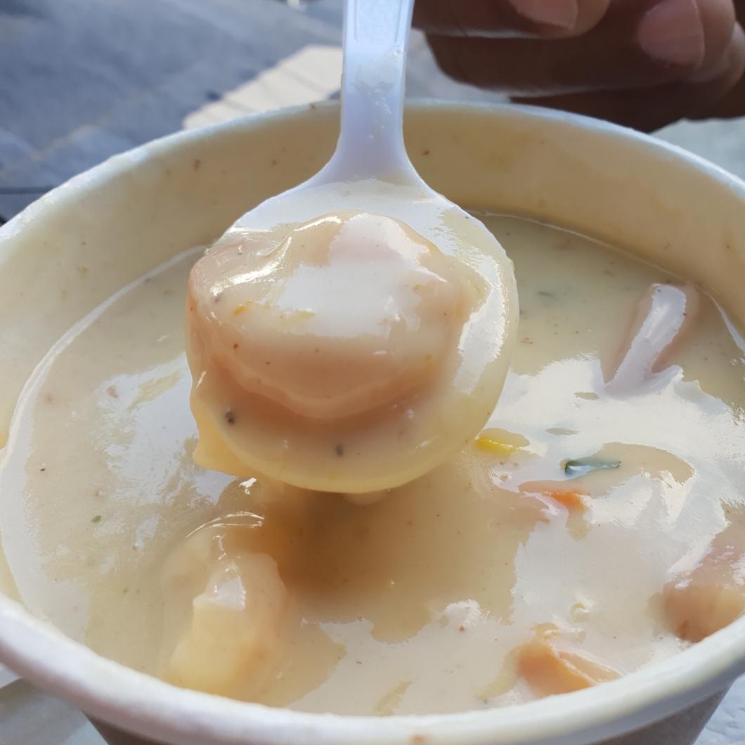 Seafood Chowder - $850JMD (tx imcl.)