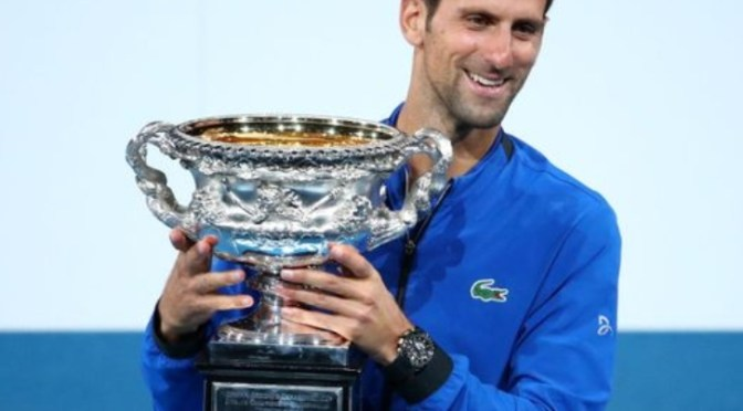 Congratulations Djokovic and Osaka, Australian Open Champions!