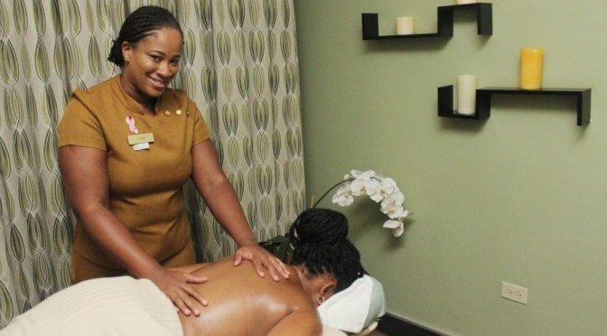 Pamper Mom with a Spa Treatment from White Orchid Spa, Jamaica Pegasus!