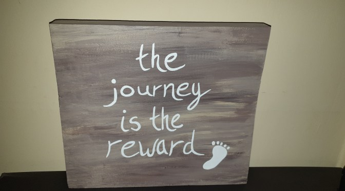 NEW Hand-Painted Wooden Sign by GW Art!