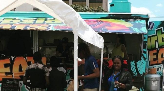 Food Trucks of Jamaica at Kensington Crescent!