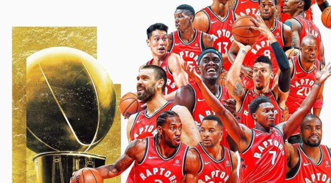 Congratulations to the TORONTO RAPTORS, 1st time NBA CHAMPIONS!