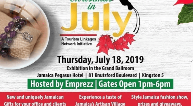 The Tourism Enhancement Fund invites you to Christmas in July Tomorrow!