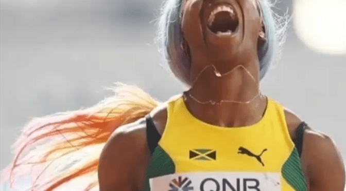 Congrats to Shelly-Ann Fraser-Pryce on her Return & Victory at World Champs!