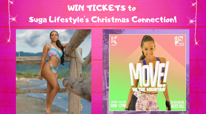 Suga Lifestyle will have a Giveaway at MOVE On The Mountain with Kamila McDonald Tomorrow!