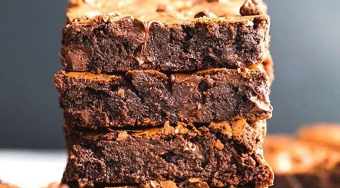 TGIF to these Brownies from Chocolate Dreams!