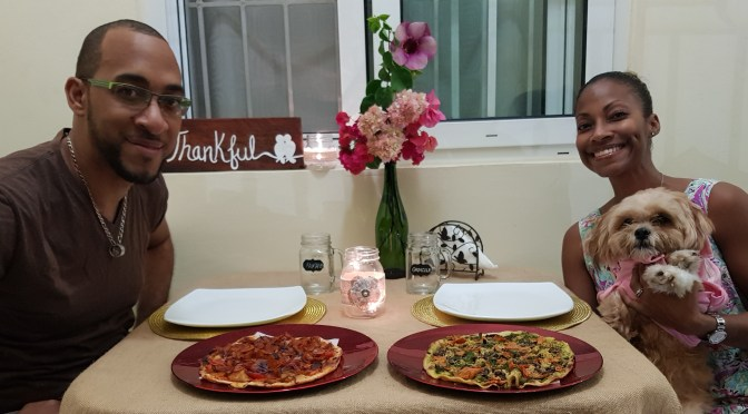 Fyah Grilled Pizzas on a Tuuuesday from Stush In the Bush During Love in the Time of Corona!