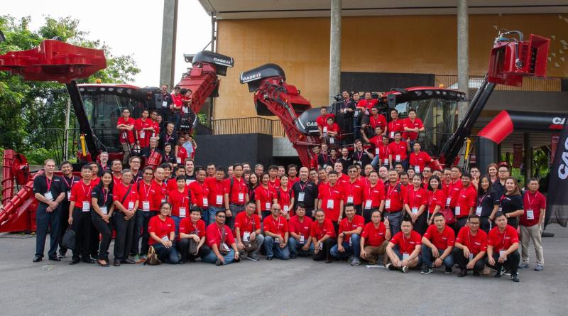 Case IH Customers Meet Sugarcane Leading Experts in Thailand