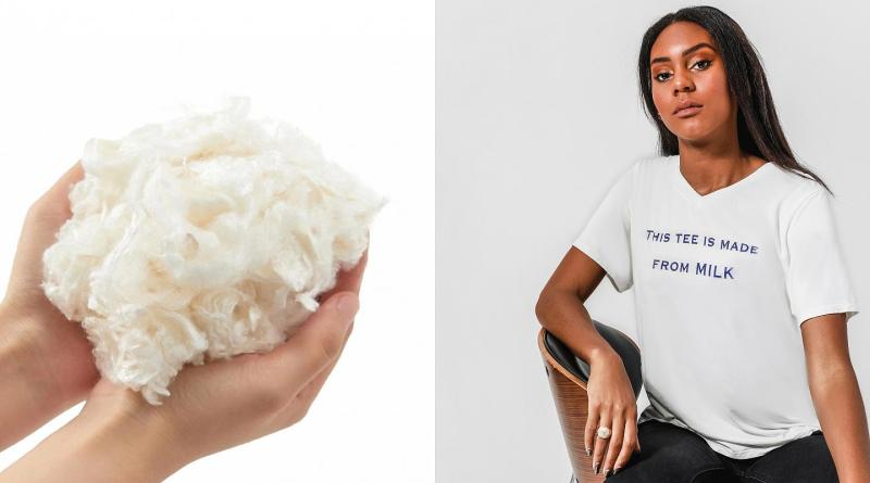 US based Startup Re-Engineers Spoiled Milk Into Biodegradable Clothing