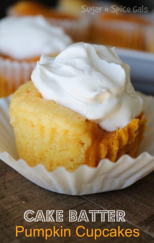 Yellow Cake Mix And Pumpkin Recipe