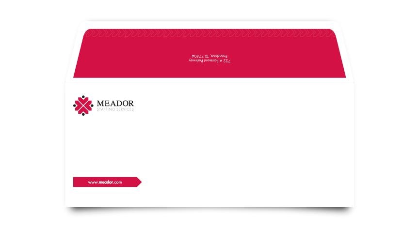 Meador Staffing Services Envelope
