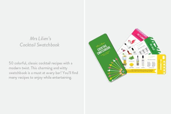 Mrs. Lilien's Cocktail Swatchbook