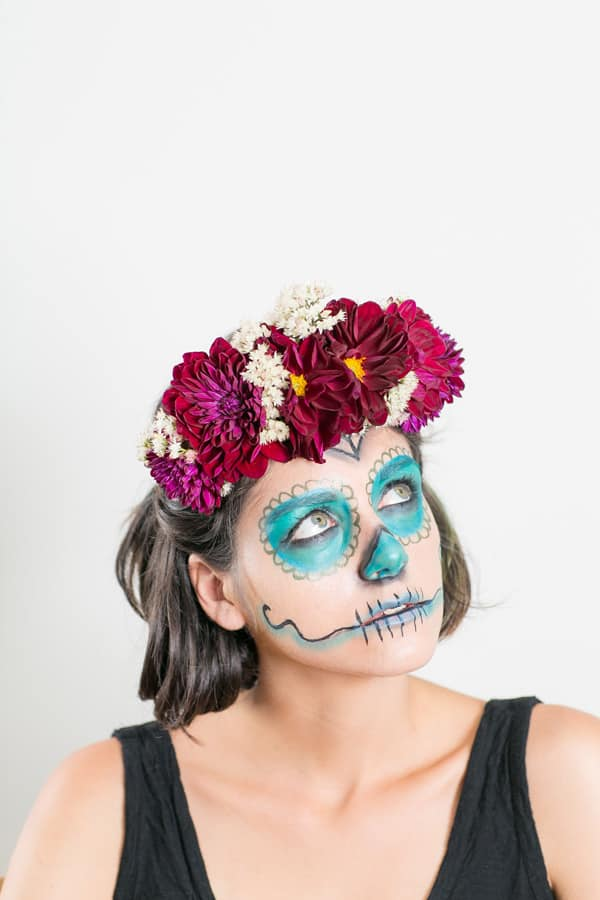 FloralHairCrownHalloween_4