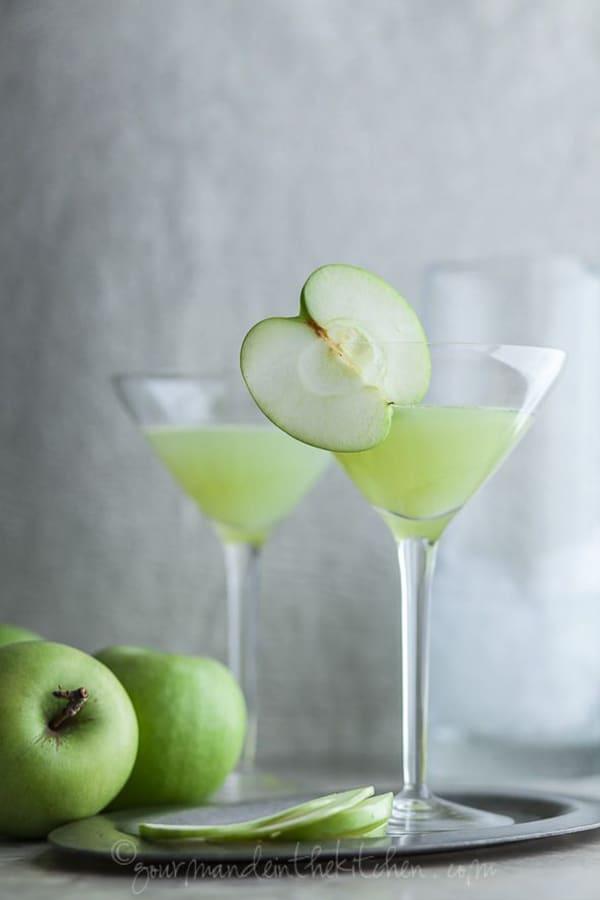 green_apple_ginger_martini