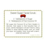 DIY Peppermint Chocolate Sugar Scrub & Printable