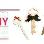 5-Minute DIY Vintage Key Necklaces