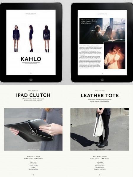 DIY tablet app MILK