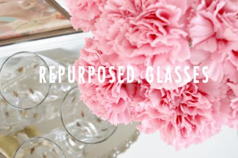 repurpose old glasses