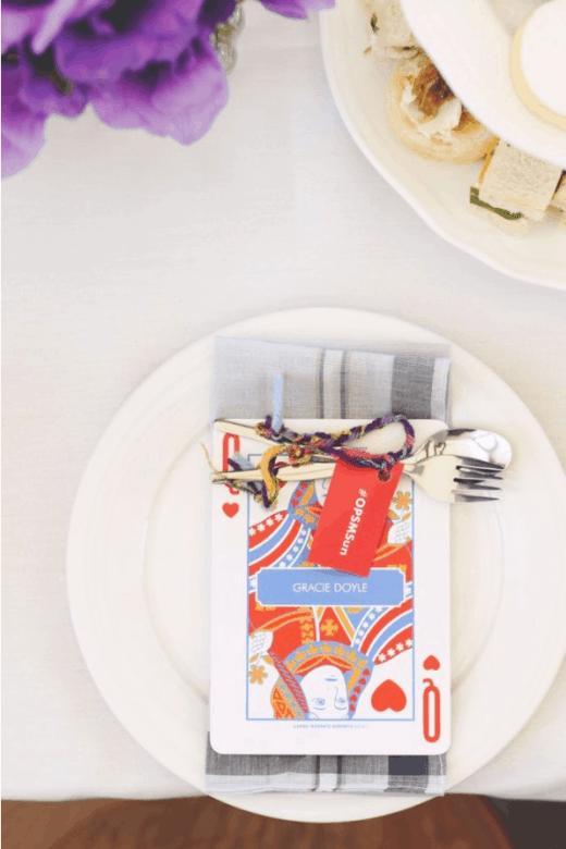 high tea meets alice in wonderland