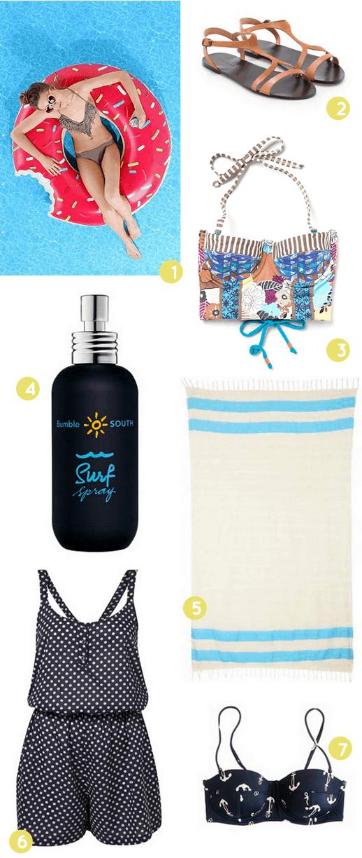Swimming Essentials - Sugar & Cloth - Houston Blogger - Favorites