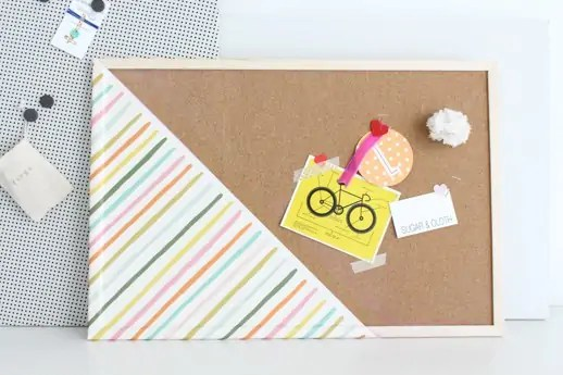 DIY noticeboards by sugar and cloth