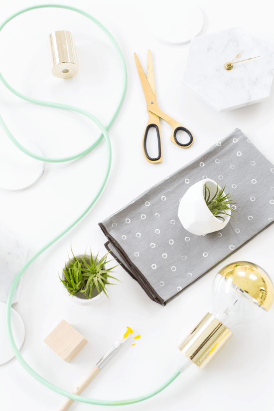 our first home decor DIY workshop