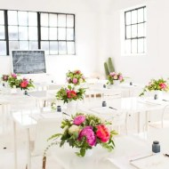 houston calligraphy workshop recap at the Sugar & Cloth studio