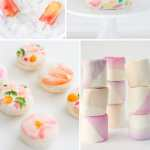 6 DIY Watercolor Sweets