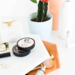 DIY Vanity Tray with Storage